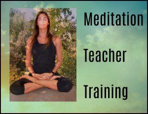 Meditator trained to teach meditation and mindfulness